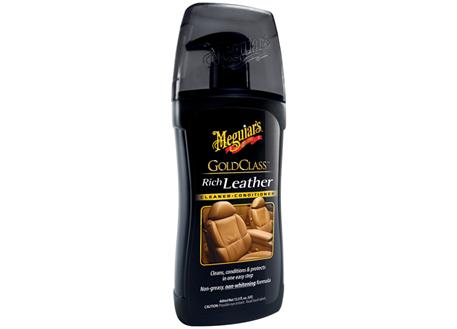 Automega Meguiar's Gold Class Rich Leather Cleaner/Conditioner - čistič a kondicionér na kůži, 400 ml