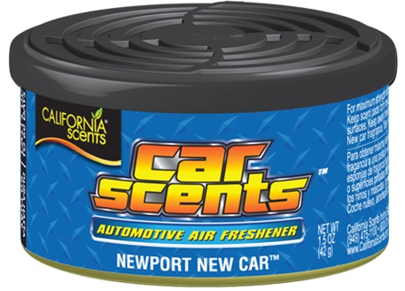 Automega Osvěžovač vzduchu California Scents, vůně Car Scents - Nové auto
