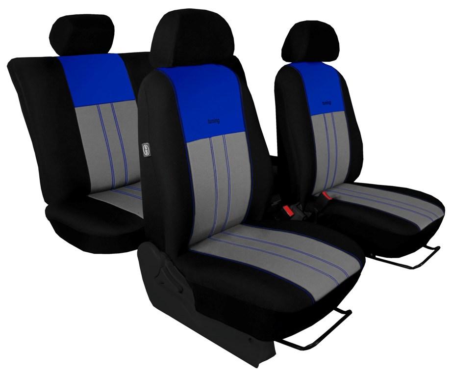 Automega Autopotahy Škoda Octavia III, Tuning Duo, bez zadní loketní opěrky, modrošedé
