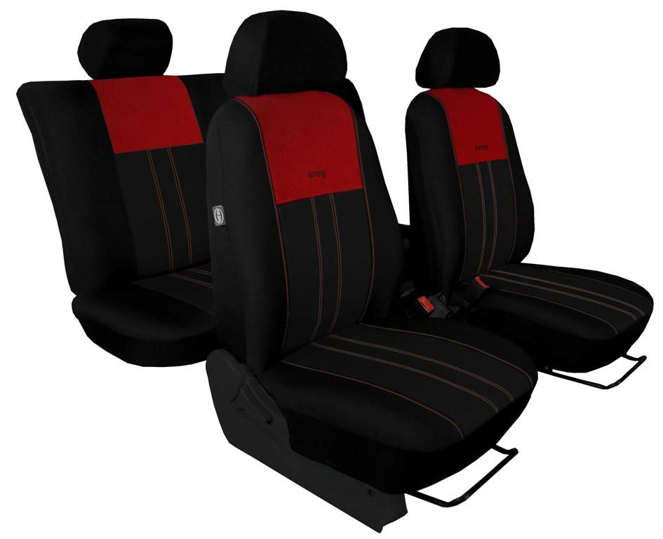 Automega Autopotahy Škoda Octavia III, Tuning Duo, bez zadní loketní opěrky, vínovočerné