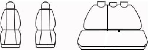 Automega Autopotahy DACIA LOGAN II, od r. 2012, Dynamic šedé