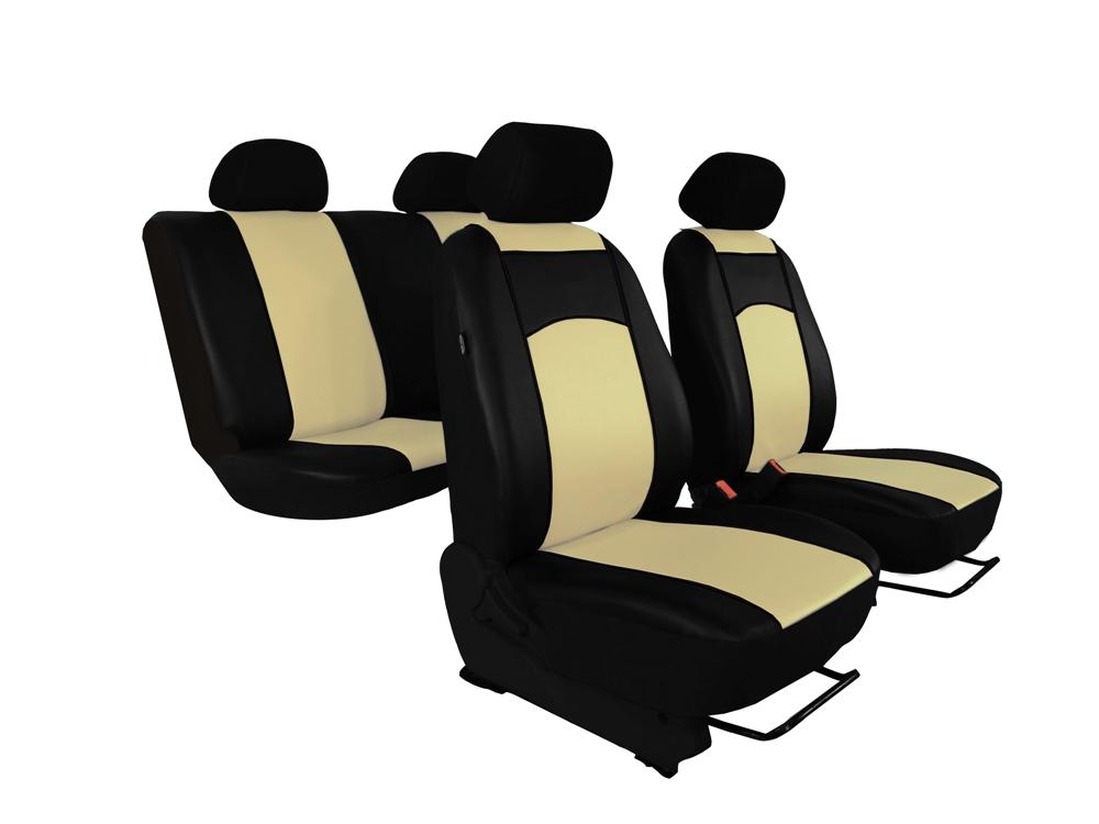Automega Autopotahy Ford C- MAX, od r. 2003-2010, 5 míst, kožené TUNING béžové