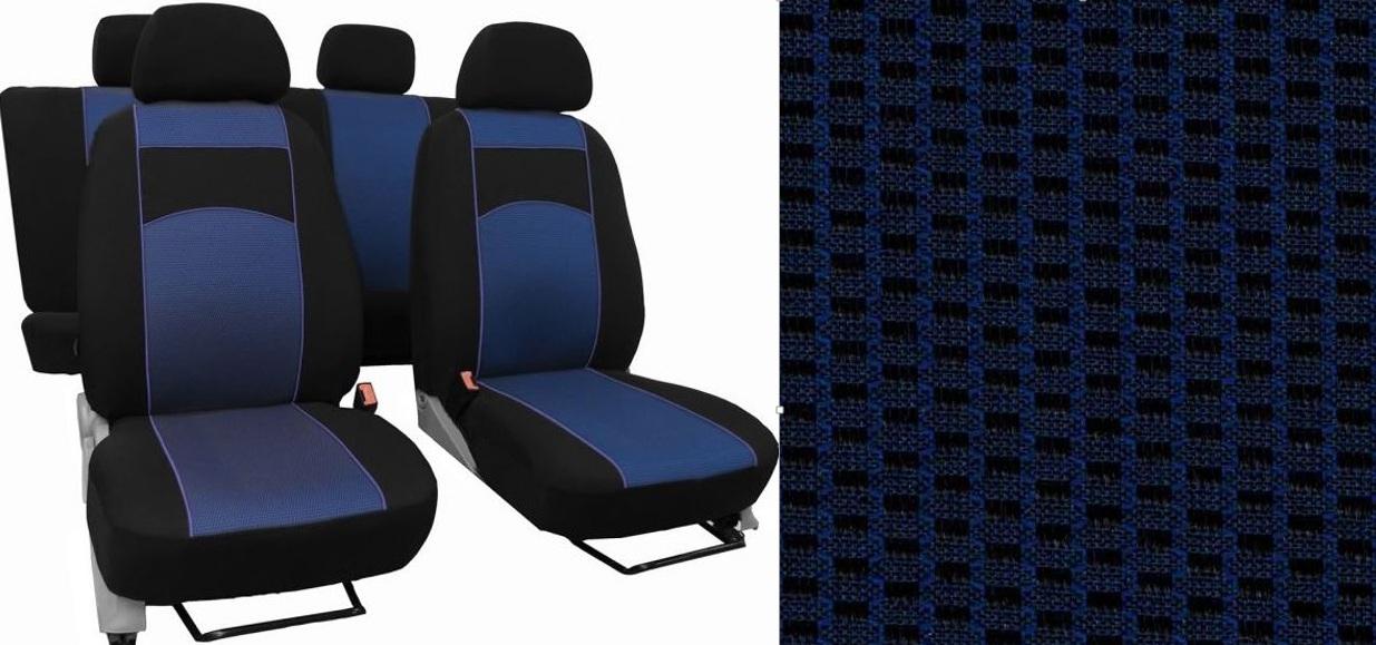 Automega Autopotahy HYUNDAI i 30, III, TYP PD, bez zadní loketní opěrky, od r.2017, VIP modré