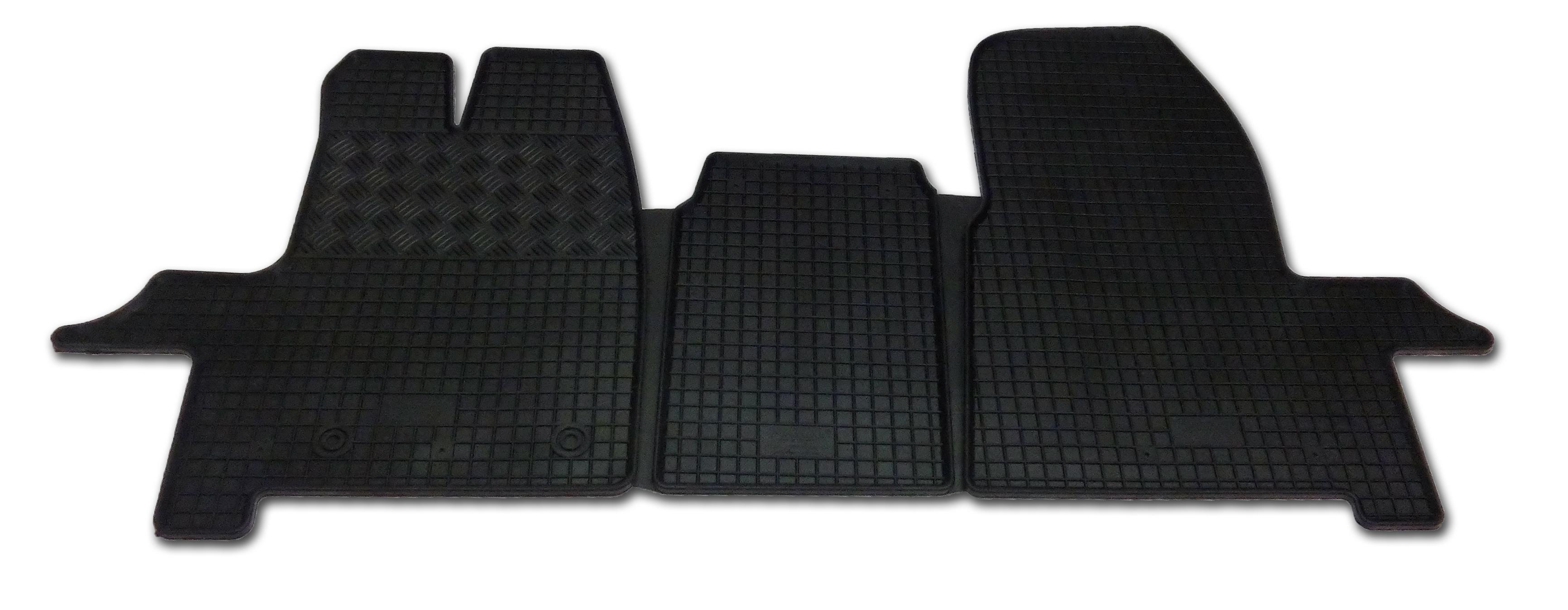 Automega Gumové autokoberce RIGUM Ford Transit / Tourneo Custom 2 místný (1+1) 2012-2018