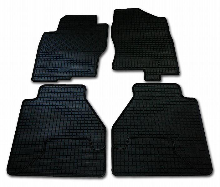 Automega Gumové autokoberce RIGUM Nissan Navara 2010-2016