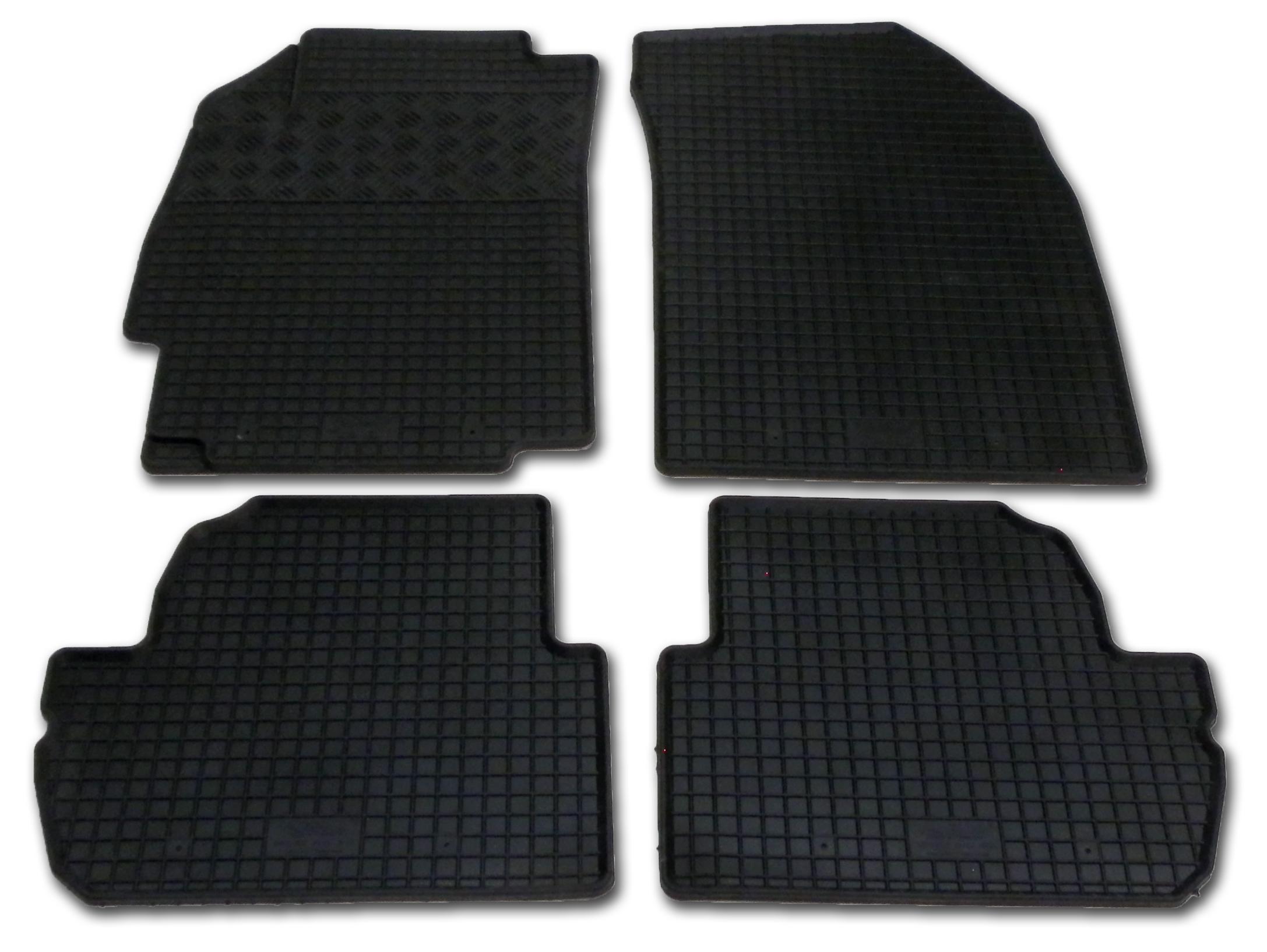 Automega Gumové autokoberce RIGUM Chevrolet Spark 2010-2013