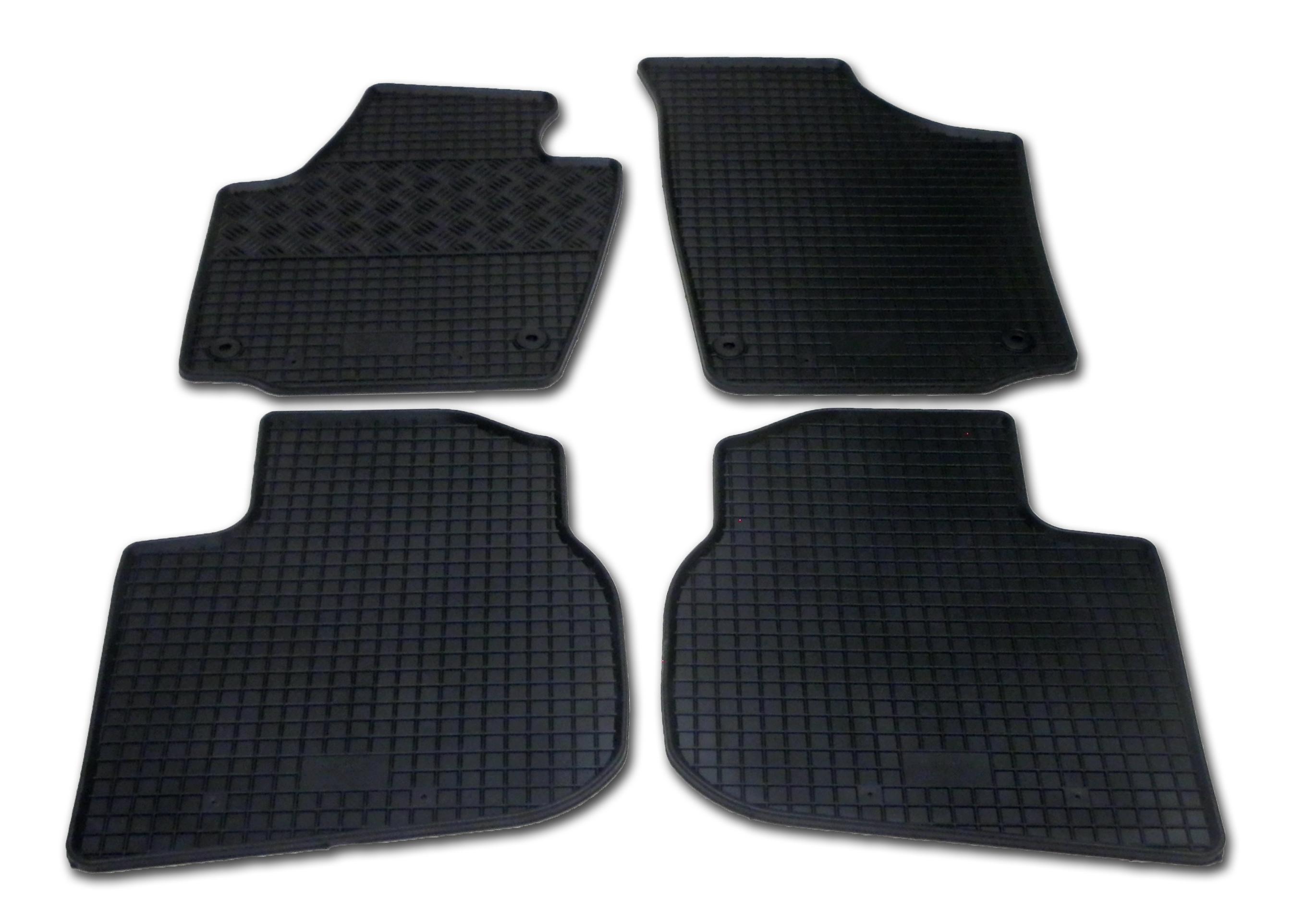 Automega Gumové autokoberce RIGUM Seat Toledo 2012-