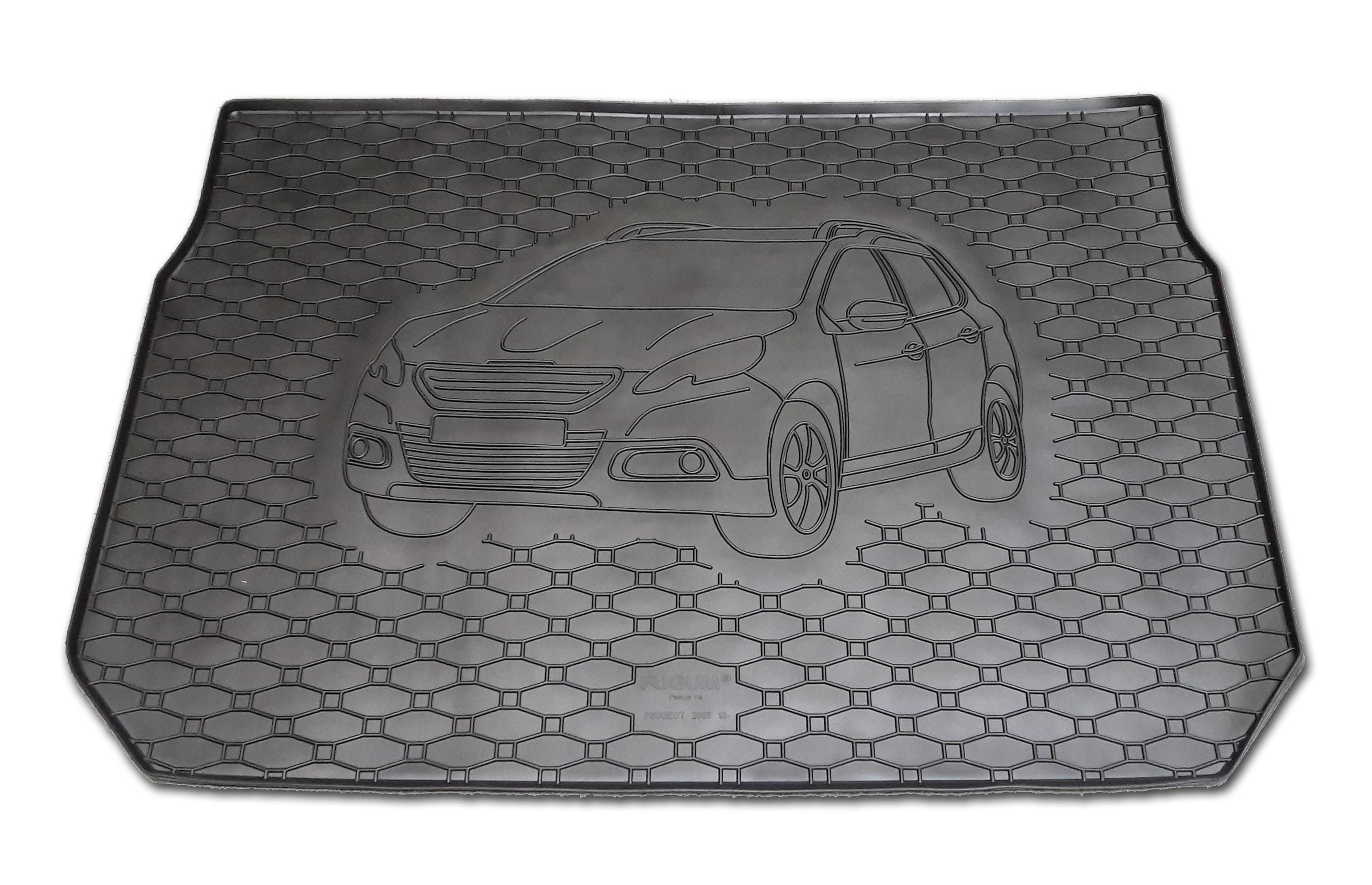 Automega Vana do kufru gumová RIGUM Peugeot 2008 2013-