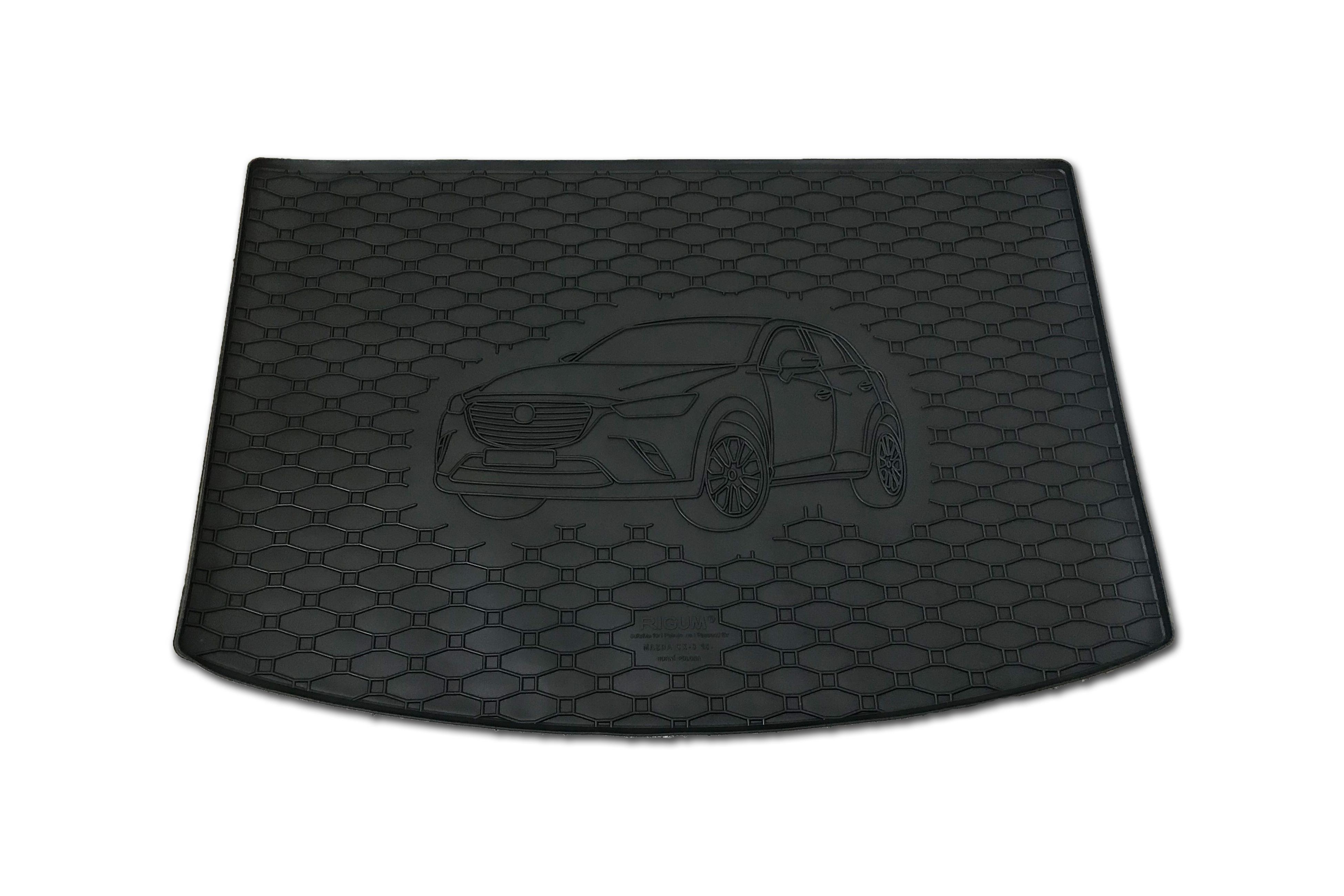 Automega Vana do kufru gumová RIGUM Mazda CX-3 2015- Horní poloha