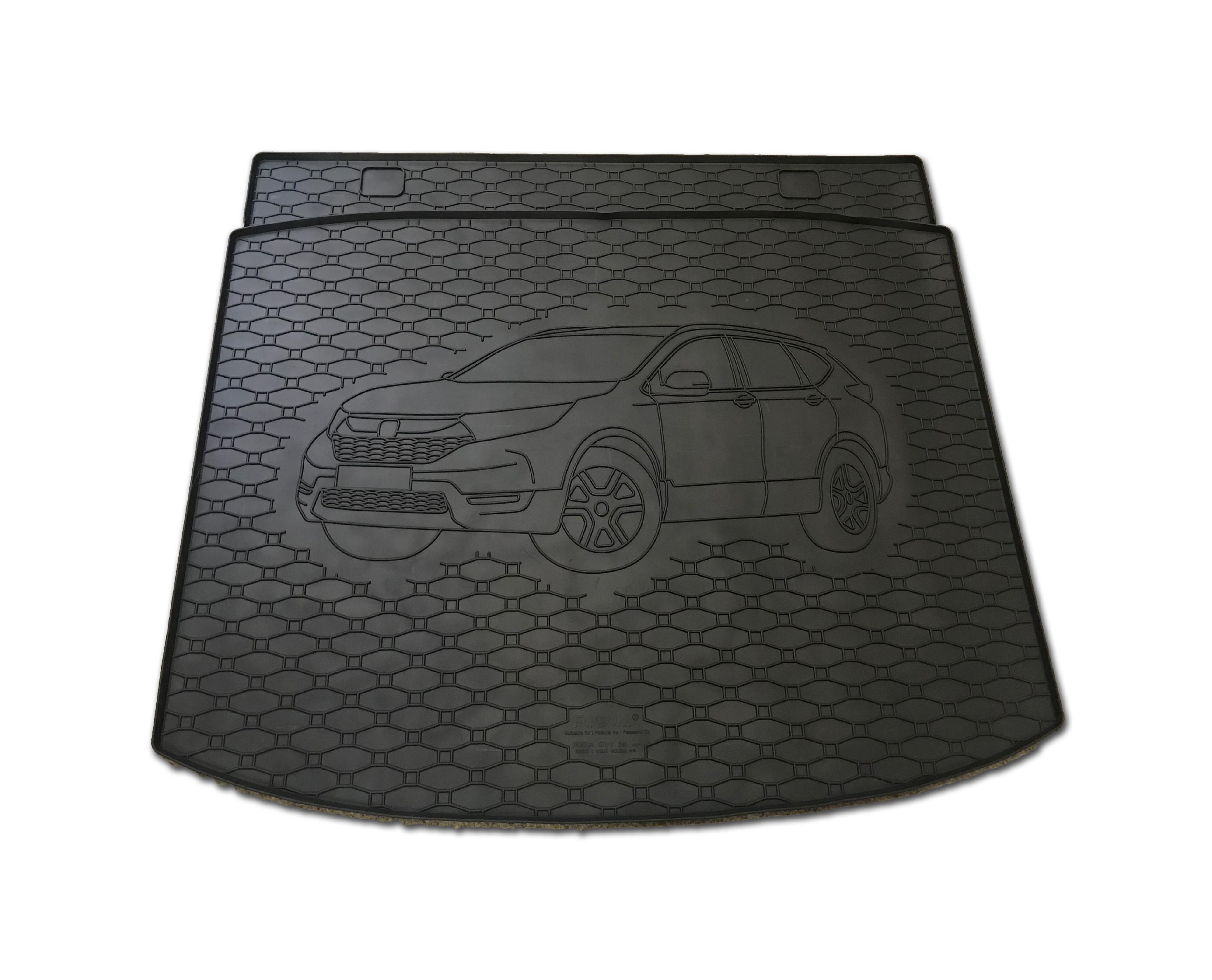 Automega Vana do kufru gumová RIGUM Honda CR-V Hybrid 2019- Horní a dolní poloha