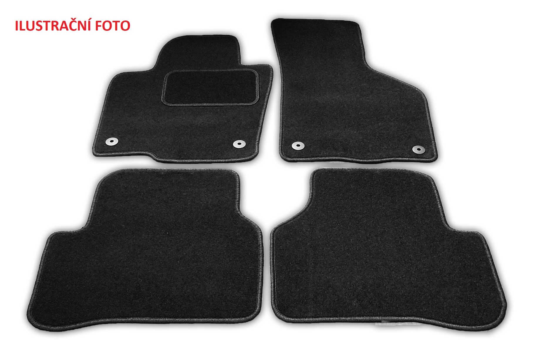Automega Textilní autokoberce Standard Nissan Qashqai 2014-