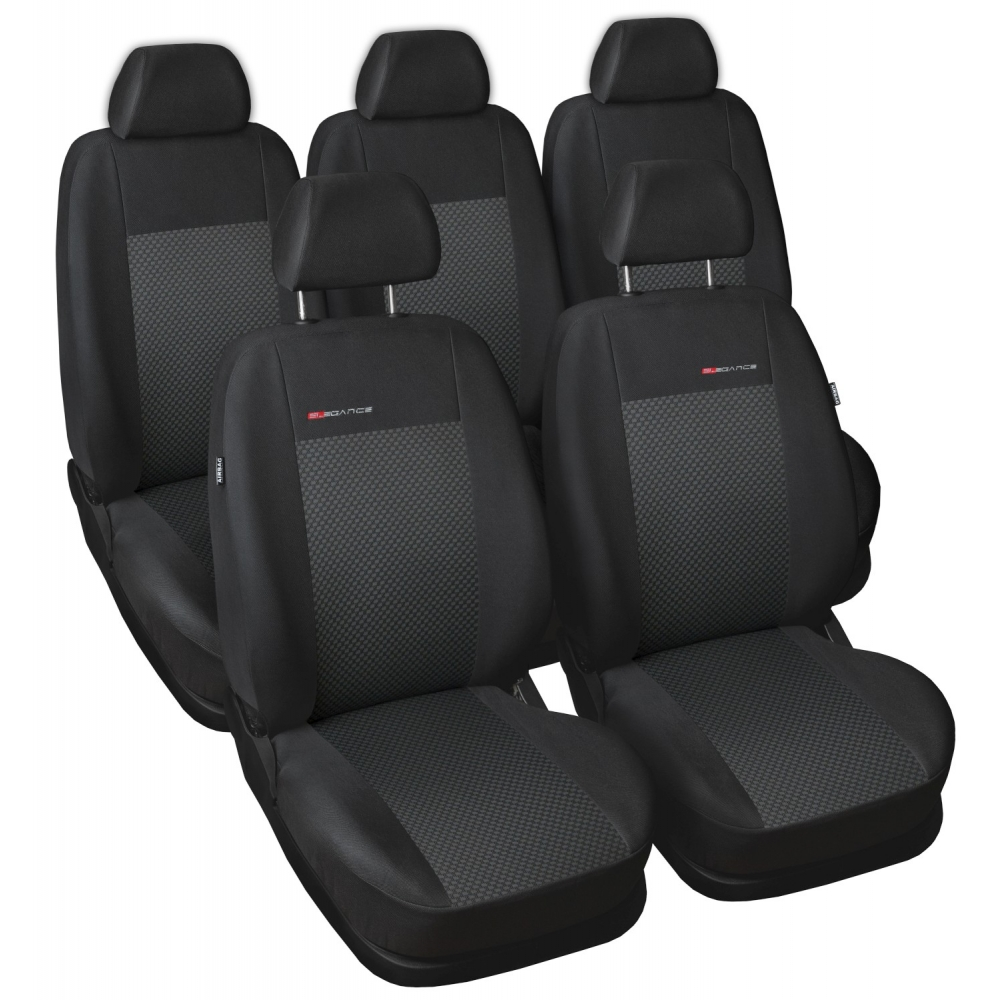 Automega Autopotahy Opel Zafira C, ZAFIRA TOURER, 5 míst, od r. 2012, černé
