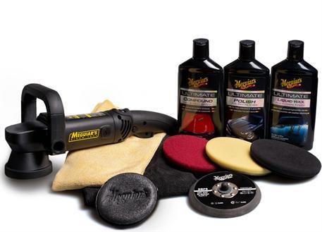 """Automega Meguiar's DA Ultimate Kit 5"""" - kompletní 5palcová sada pro strojní renovaci, leštění a voskování laku"""