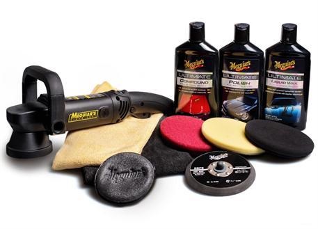 """Automega Meguiar's DA Ultimate Kit 6"""" - kompletní 6palcová sada pro strojní renovaci, leštění a voskování laku"""