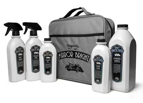 Automega Meguiar's Mirror Bright Kit - výhodná sada autokosmetiky s taškou v designu Mirror Bright