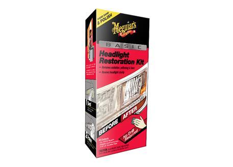 Automega Meguiar's Basic Headlight Restoration Kit - základní sada na oživení světlometů