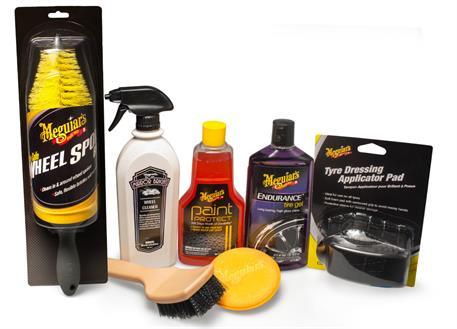 Automega Meguiar's Wheel & Tire Kit - kompletní sada na mytí a ochranu kol a pneumatik