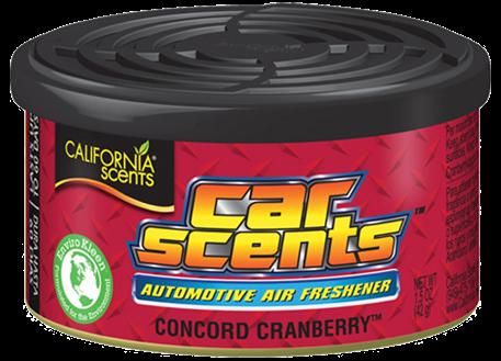 Automega Osvěžovač vzduchu California Scents, vůně Car Scents - Brusinky