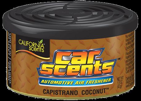 Automega Osvěžovač vzduchu California Scents, vůně Car Scents - Kokos
