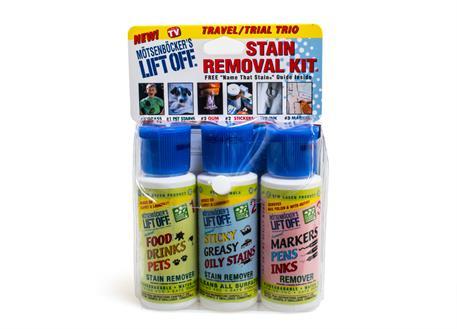 Automega LIFT OFF Stain Removal Kit - 3 Pack - výhodná sada na odstranění odolných skvrn