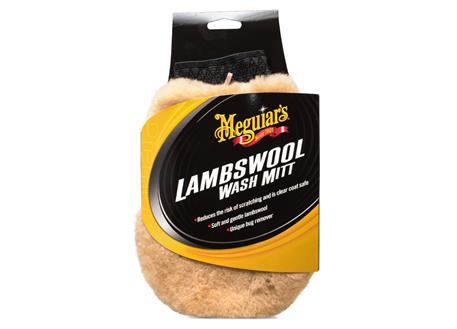 Automega Meguiar's Lambswool Wash Mitt - mycí rukavice z pravé jehněčí vlny