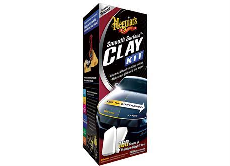 Automega Meguiar's Smooth Surface Clay Kit - sada pro dekontaminaci laku