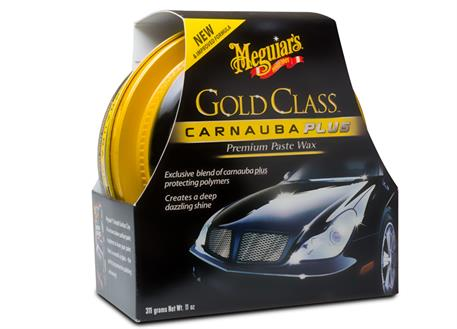 Automega Meguiar's Gold Class Carnauba Plus Premium Paste Wax - tuhý vosk s obsahem přírodní karnauby, 311 g