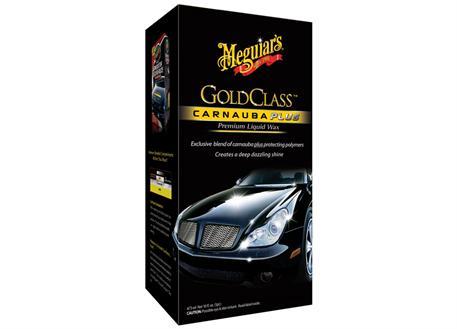 Automega Meguiar's Gold Class Carnauba Plus Premium Liquid Wax - tekutý vosk s obsahem přírodní karnauby, 473 ml