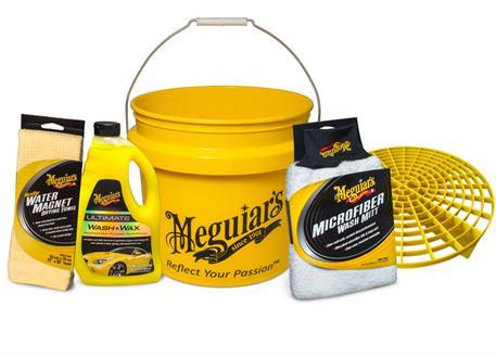 Automega Meguiar's Ultimate Wash & Dry Kit - kompletní sada na mytí a sušení auta