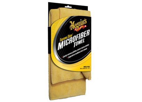 Automega Meguiar's Supreme Shine Microfiber Towel - mikrovláknová utěrka, 40 cm x 60 cm