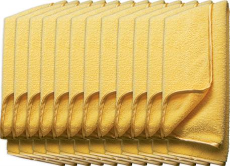 Automega Meguiar's Supreme Shine Microfiber Towel - mikrovláknová utěrka, 40 cm x 60 cm (12 kusů)