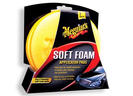 Automega Meguiar's Soft Foam Applicator Pads - pěnové aplikátory (2 kusy)