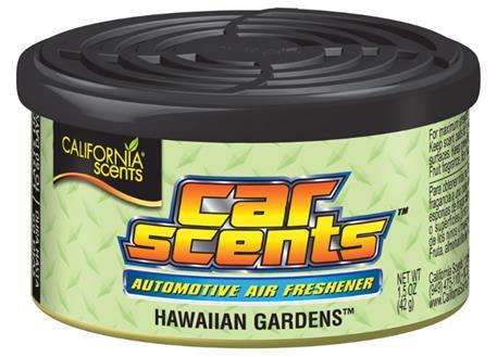 Automega Osvěžovač vzduchu California Scents, vůně Car Scents - Havajské zahrady
